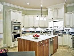 tile or cabinets first tiles kitchen cabinet kitchen with beige granite counters tile floor
