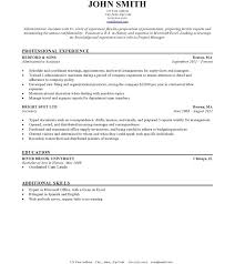 plain text resume template resume template text cv format it project manager sle singular
