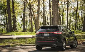 Ford Escape Trunk Space - 2017 ford edge in depth model review car and driver