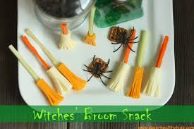 witches u0027 broom snack healthy ideas for kids