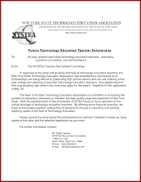 15 cover letter sample for scholarship sendletters info