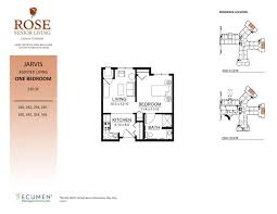 Assisted Living Facility Floor Plans our senior lifestyle accommodations in clinton twp michigan