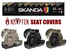 coverking kryptek camo tactical front seat covers for toyota