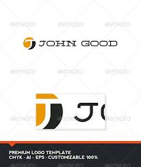 john good letter j logo template by domibit graphicriver