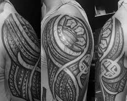 manly goan tribal designs half sleeve