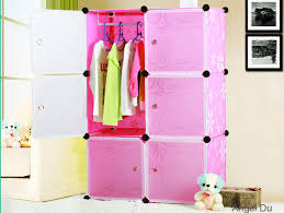 Plastic Storage Cabinets With Doors by Magic Cubes Blue Kids Storage Cabinets With Six Cartoon Door Buy