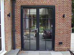modern exterior french doors interior design