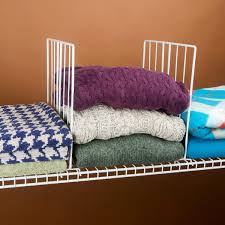 Organizing Clutter by Modern Bedroom With Closet Shelf Dividers Organizers Wire Shelf