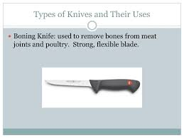 foods ii knives types of knives and their uses chef u0027s knives a