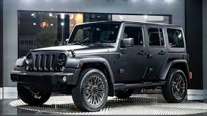 charcoal grey jeep rubicon update1 2015 chelsea truck company cj300 le jeep wrangler