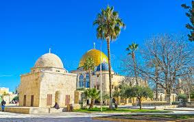 islamische architektur die islamische architektur in jerusalem redaktionelles foto bild