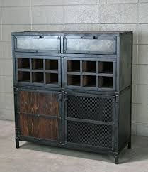 amazon com wine cabinet modern industrial liquor cabinet bar