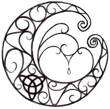 lunar celtic pencil and in color lunar celtic