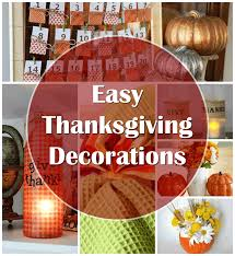 easy diy thanksgiving decorations thrifty jinxy