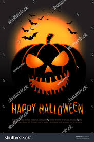 halloween pumpkin vector background illustration halloween stock