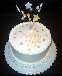 75th birthday cakes for men