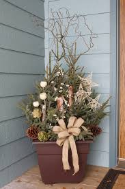 explore love eat diy spruce tip porch pot for the home