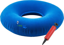 Cushion Donut Care365 Donut Cushion Back Support Free Size Blue Buy Care365
