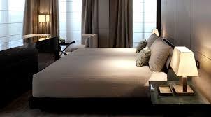 chambre hotel luxe moderne hôtel 5 étoiles de luxe quartier de la mode à milan moderne