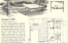 midcentury modern house plans new mid century modern house plans