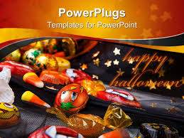 halloween chocolate background hershey chocolate powerpoint templates crystalgraphics