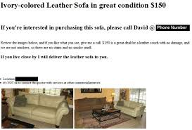 How To Sell Used Sofa How To Write An Effective Craigslist Ad Toughnickel