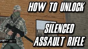 watch dogs how to unlock the silenced assault rifle youtube