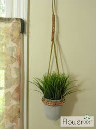 diy plant hanger u2013 copper strapping and leather cording u2013 flowerups