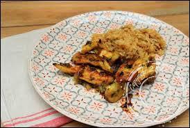 cuisiner aiguillette de poulet aiguillettes de poulet au miel et au curry un siphon fon fon un
