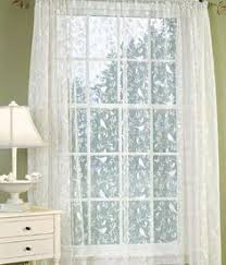 Bird Lace Curtains Soft English Floral Lined Rod Pocket Curtains Pam And Ron