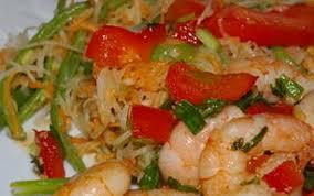cuisiner des crevettes recette crevettes sautées au basilic thaï 750g