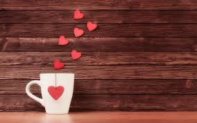 heart fly wallpapers pink hearts fly from coffee cup morning new hd wallpapernew hd