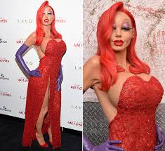 Halloween Costume Jessica Rabbit Heidi Klum Transforms Jessica Rabbit Halloween Party