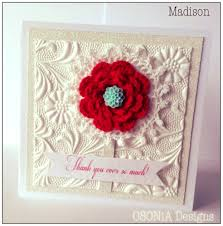 handmade thank you card my beautiful