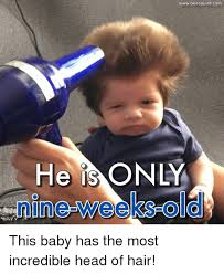 Head Cold Meme - he is o wwwbensound com this baby has the most incredible head of