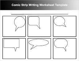 comic strip template free word pdf format download creative