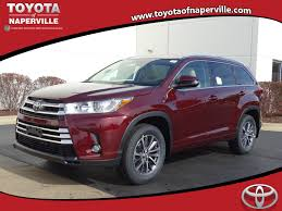 toyota highlander 2017 white new toyota highlander for sale in naperville il toyota of