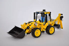 lego technic bucket wheel excavator oz brick nation lego technic 42023 construction crew review