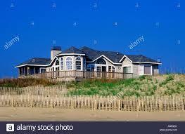 beach house outer banks north carolina stock photo royalty free