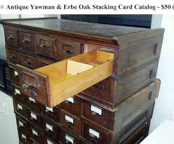 old desks for sale craigslist let s start the year out right giant antique card catalog