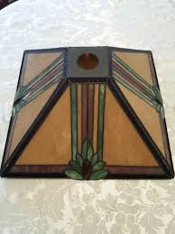how to tea stain glass l shades mission style l shade wood base stained glass tiffany table 11