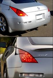 nissan 370z tail lights motorsport led tail light upgrade kit 03 05 350z the z store