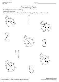 all worksheets numbers 1 5 worksheets kindergarten printable