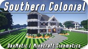 minecraft mansion 4 southern colonial hd download youtube