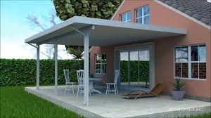 Roof Patio by Cover Patio Roof Kit Youtube