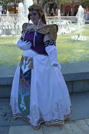 Princess Zelda Halloween Costume Cosplay Size Costume Convention Diy Sewing Video Games