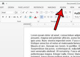 Count Words In A Text Document How To Do A Word Count In Word 2013 Solve Your Tech