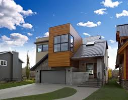 Modern Home Design Exterior 2013 Compact Elegant House With Volumes And Irregularities By Habitat