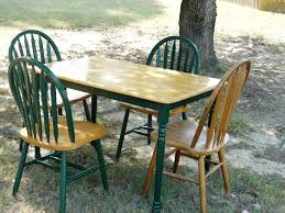 Best Painted Dining Set Images On Pinterest Dining Set - Painted kitchen tables and chairs