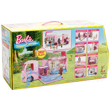 Barbie Dining Room Barbie Dreamcamper Walmart Com